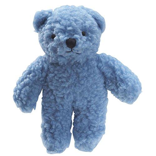 Blue Dog Soft Toy (Zanies Berber Bear Dog Toys, Blue)
