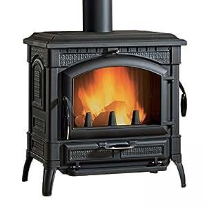 La nordica l7119100 isotta chimenea horno bricolaje y herramientas - Stufe a legna nordica opinioni ...