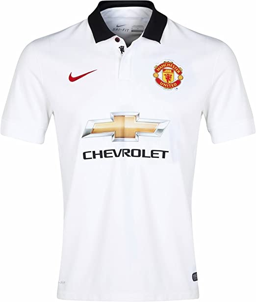 Jersey de f¨²tbol Nike Manchester United Away 2014_15 peque?o ...