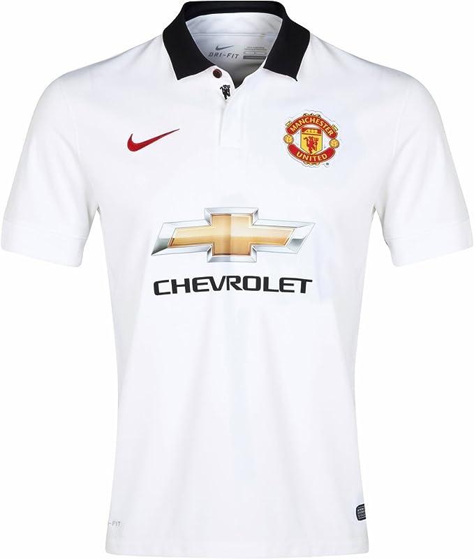 Jersey de fš²tbol Nike Manchester United Away 2014_15 peque?o ...