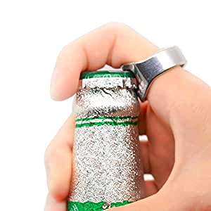Unique Creative Versatile Stainless Steel Finger Ring Kitphuvu