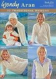 Wendy Ladies Traditional Aran Designs 274 Knitting Pattern Book Aran