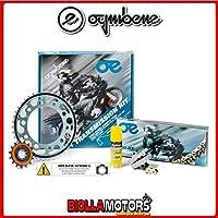 155576000Kit cadena corona piñón Oe Kawasaki KLE 650Versys–ABS