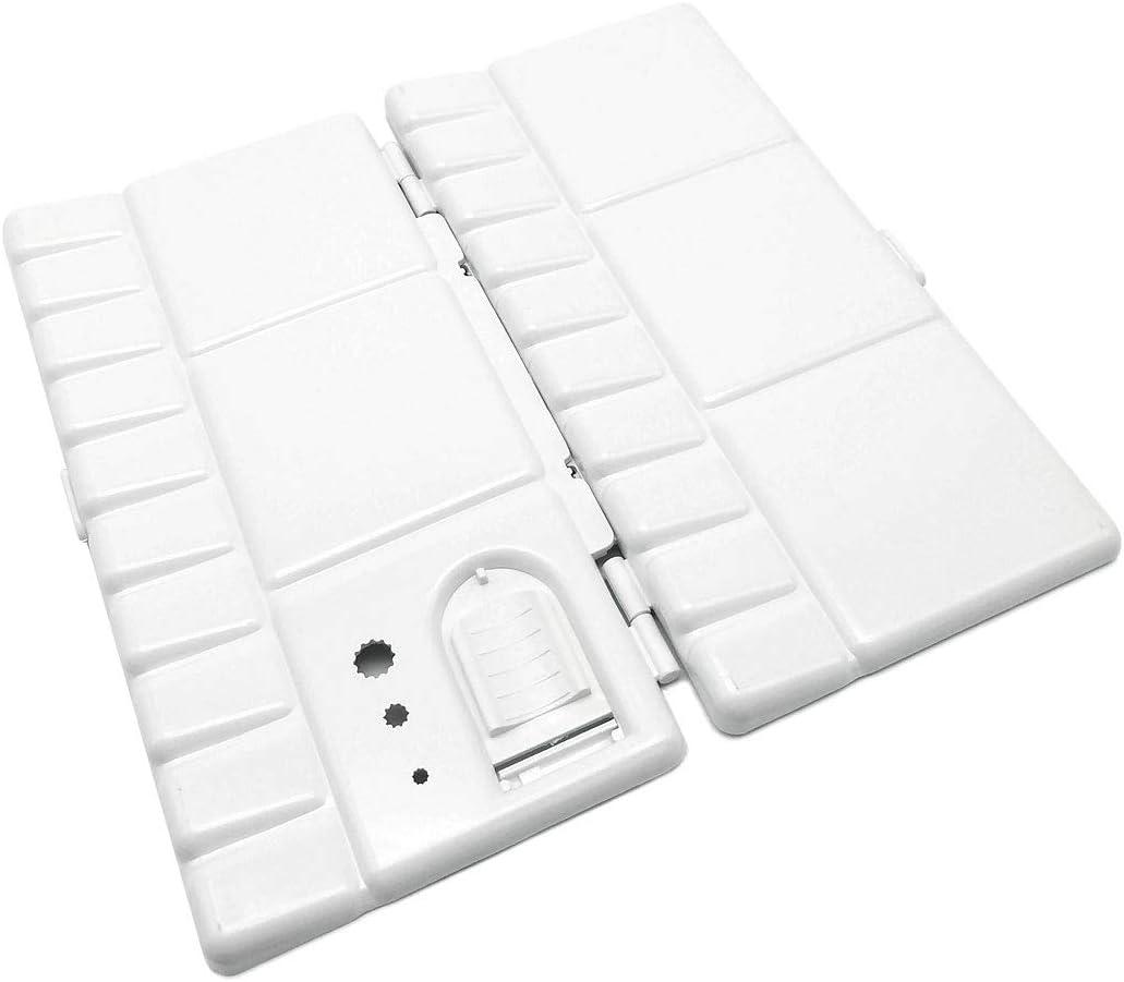 Folding Paint Trays Box Watercolor Plastic Palettes Thumbhole Holders 20 Wells
