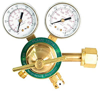 Flame Technologies VMOR-22 Medium Duty Oxygen Regulator, Victor Compatible