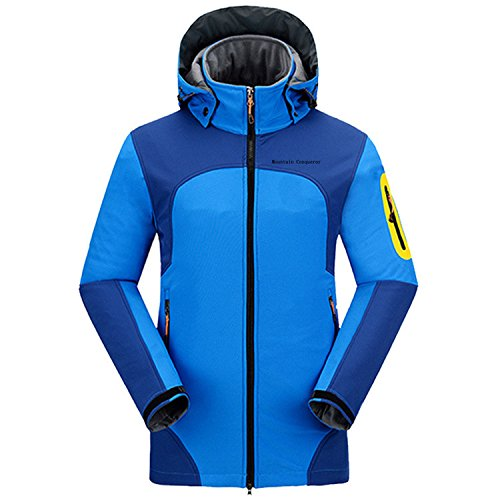Mountain Conqueror Outdoor Wear Winter Jacket For Men Rain Waterproof Jackets Quick Drying Clothes