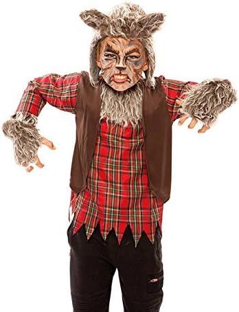EUROCARNAVALES Disfraz de Hombre Lobo para niño: Amazon.es ...