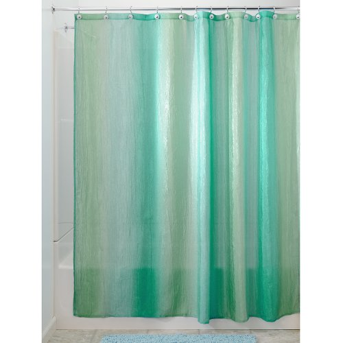 InterDesign Ombre Fabric Shower Curtain