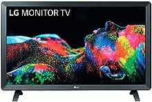 """LG 28TL520S-PZ - Monitor Smart TV de 71cm (28"""") con pantalla LED HD (1366x768, 16:9, DVB-T2/C/S2, WiFi, HbbTV 2.0, Miracast, USB grabador, 10W, 2xHDMI 1.4, 2xUSB 2.0, Auriculares, Óptica) Color Negro"""