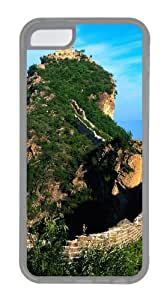 iPhone 5C Case Cover - Great Wall Of China Custom PC Case Cover For iPhone 5C - Tranparent