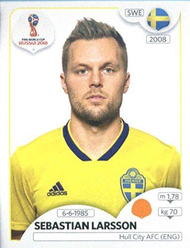 Amazon.com  2018 Panini World Cup Stickers Russia  482 Sebastian Larsson  Sweden Soccer Sticker  Collectibles   Fine Art 1286f7a17
