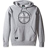 LRG Men's Pullover Hooded Logo Sweatshirt, 4XL, RC 2 Gray