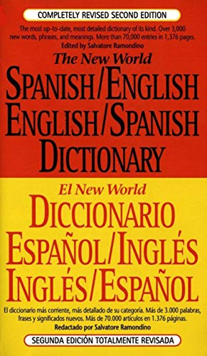 The New World Spanish/English, English/Spanish Dictionary (El New World Diccionario español/inglés, inglés/español) (Spanish and English Edition)