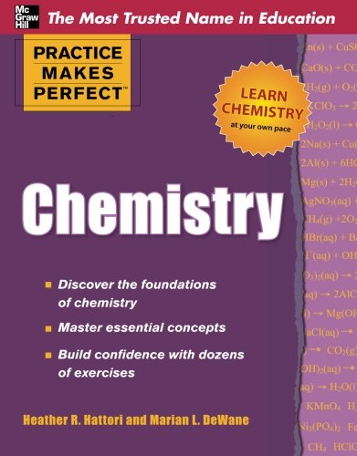 Practice Makes Perfect Chemistry (Practice Makes Perfect Series)