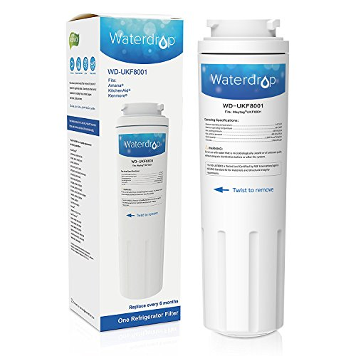 Waterdrop UKF8001 Replacement for Maytag UKF8001, 469005, 4396395 Refrigerator Water Filter