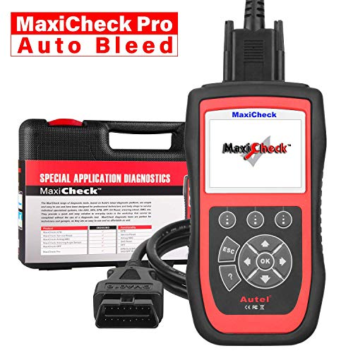 Autel MaxiCheck Pro OBD2 Scanner Automotive Diagnostic Scan Tool with ABS Auto Bleed, SRS Airbag, Oil Reset, SAS, EPB, BMS for Specific Vehicles 1996 to 2012 ()