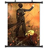 "1 X Fullmetal Alchemist Anime Fabric Wall Scroll Poster (16"" X 22"") Inches"