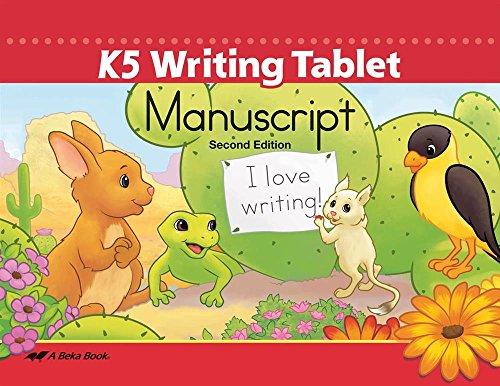 K5 Writing Tablet Manuscript -