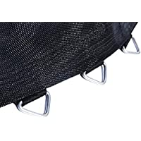Replacement Jumping Trampoline Mat for 14 Feet Trampoline with 96 pcs V-Ring for L165mm Spring