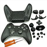 Cheap Replacement Case Storage for XBOX ONE Controller, YTTL XBOX One Custom Hydro Dipped Black Sliver Replacement Housing Shell Cases Kits with Buttons For XBOX ONE Wireless Controller Gamepad