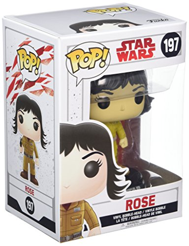 Funko POP! Star Wars: The Last Jedi - Rose - Collectible Figure