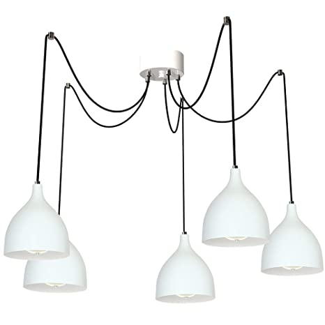 Grandes lámpara colgante (Profundidad hasta: 2,5 m, 5 puntos ...