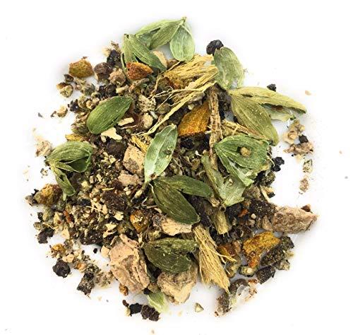 - Ayurvedic Balance Energising Kapha Tea Organic Pure Herbal Loose Tea Leaves 100% Natural Detox Tea, Healing and Refreshing (Makes 50)