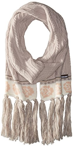 Muk Luks Women's Rustic Romance Basic Scarf-Rose, Light Purple, One Size