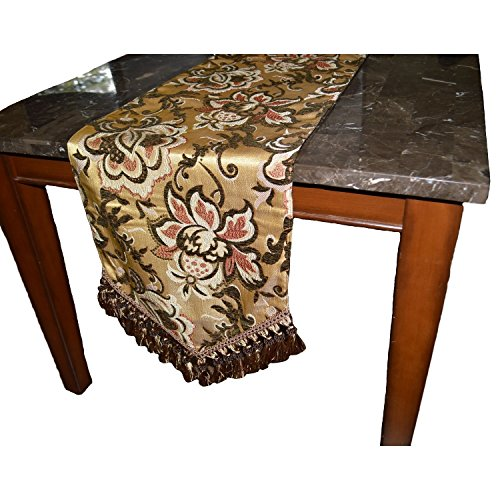 Canaan Company Pamela Decorative Table Runner 108'' by Canaan