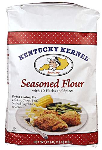 Kentucky Kernel Seasoned Flour, 25 Pound - Buy Online in