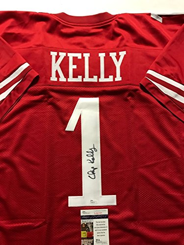 Autographed/Signed Chip Kelly San Francisco 49ers Red Football Jersey JSA (San Francisco 49ers Collectible Replica)