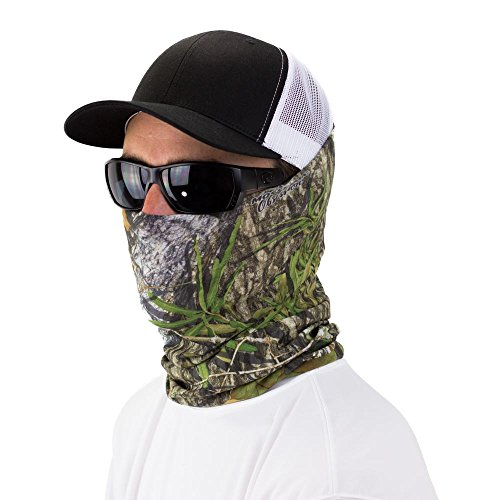 - Mossy Oak Obsession Seamless UPF 30 High Performance Moisture Wicking Bandana Made of 100% Polyester Microfiber by Hoo-Rag