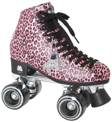 Moxi Roller Skates Ivy Roller Skates Pink Cheetah 5
