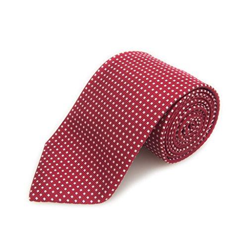 Robert Talbott Best Of Class Red And White Dot Woven Silk Tie by Robert Talbott (Image #1)