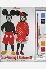 Disney's Face Painting and Costume Kit by Douglas Love (1997-10-31) Mass Market Paperback