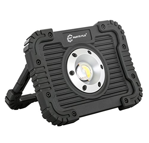 Parts Flix Ultra Bright Spotlight Rechargeable Portable LED Work Light,Outdoor Waterproof Flood Lights (PF-W5112R-B)
