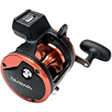 Daiwa Sealine SG Line Counter Reels Model SG27LC3B with Counter Balanced Handle, Black and Orange Finish