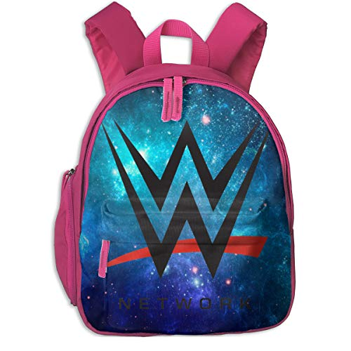 Unisex Kids Casual Children Backpack School Travel Shoulder Bags-WWE Champion