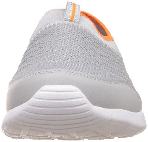 Smack Lite Grey and Orange Sneakers