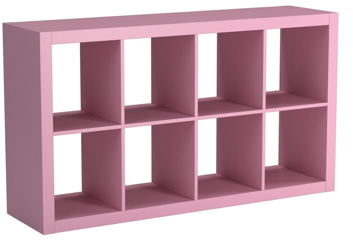 Better Homes and Gardens Furniture 8-Cube Room Organizer (Pink)