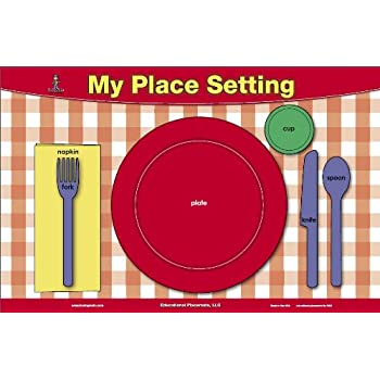 Painless Learning Place Setting Placemat Home