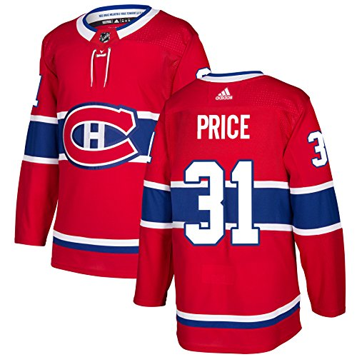 Carey Price Montreal Canadiens (Montreal Canadiens Adidas Carey Price Authentic Pro Jersey Red (L/52))