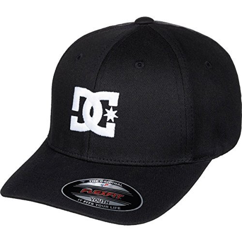 DC Boys Cap Star 2 Flexfit Hat/Cap One Size Black