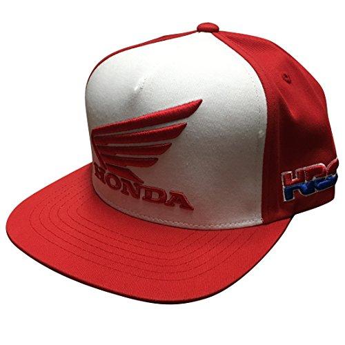Fox Racing Honda Hrc Usa Snapback Hat Red