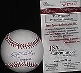 Sam Tuivailala St Louis Cardinals Autographed Signed Baseball JSA WITNESS COA GO CARDS