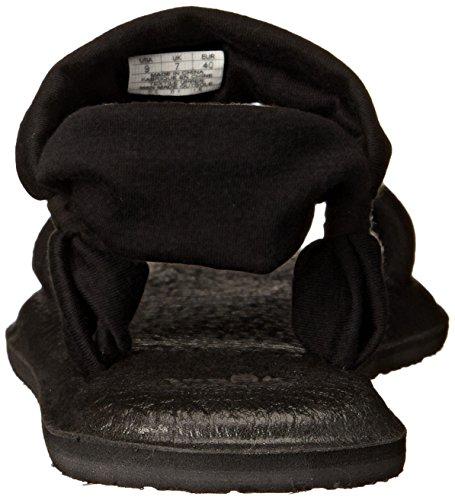 Yoga Duet Sandal Sanuk Women's Black 5qz4EB6S