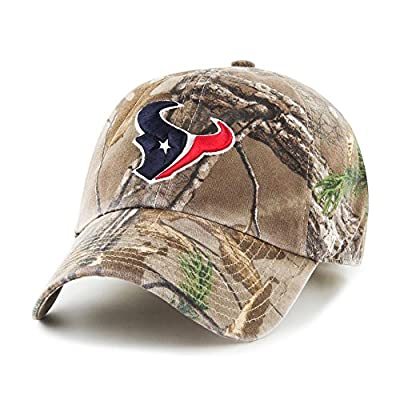 NFL '47 Brand Houston Texans Clean Up Adjustable Hat - Realtree Camo - from 47 Brand