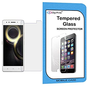 Digiprints 0.33 MM Pro Plus Tempered Glass Screen Protector For Lenovo K8 Note Screen guards