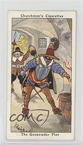 The Gunpowder Plot (Trading Card) 1937 Churchman's Howlers - Tobacco [Base] #11 (Gunpowder Imperial)