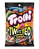 Trolli Sour Brite Crawlers have morphed into new deliciously twisted form. Delivering a weirdly awesome candy experience with a chewy outside and soft berry filling inside, Trolli Twisted Sour Brite Crawlers are unlike anything else from Trol...